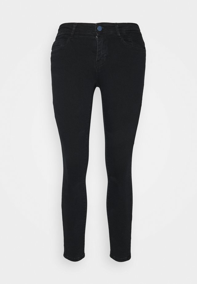 NMNEW LUCY SKINNY  - Jeans Skinny Fit - blue black denim