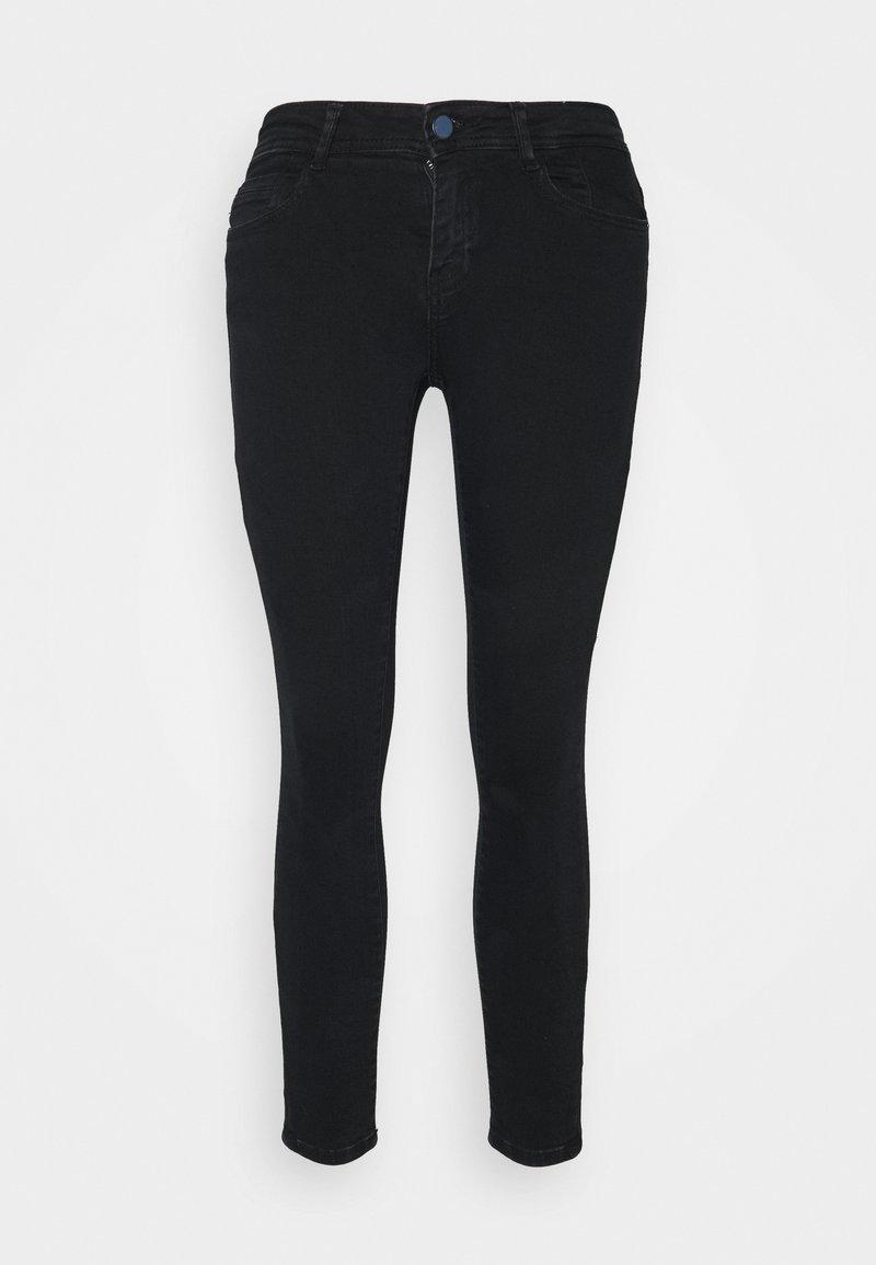 Noisy May Petite - NMNEW LUCY SKINNY  - Jeans Skinny Fit - blue black denim