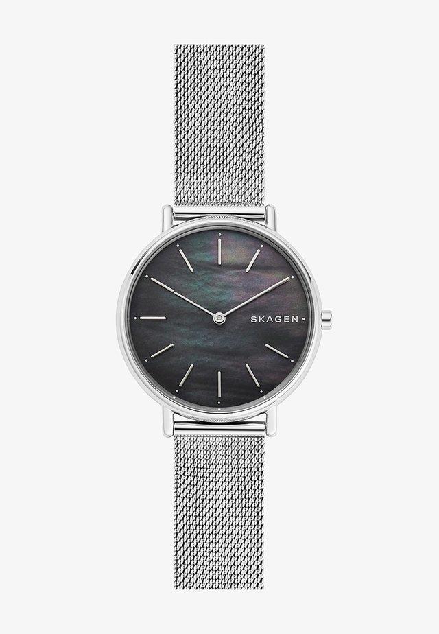 SIGNATUR - Klokke - silver-coloured