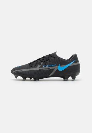 PHANTOM GT2 ACADEMY FG/MG - Botas de fútbol con tacos - black/iron grey