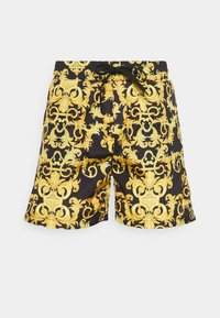 Versace Jeans Couture - CAMEO ALLOVER  - Shorts - black - 4