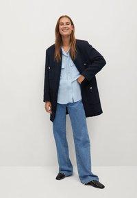 Mango - LIARA - Button-down blouse - bleu - 1