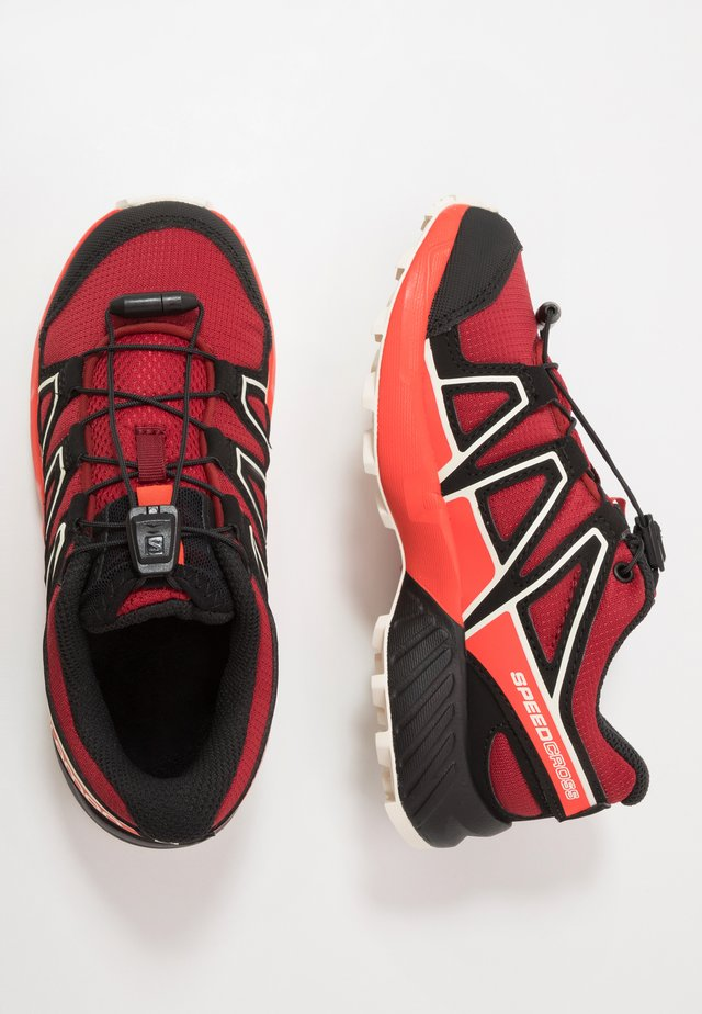 SPEEDCROSS - Hiking shoes - red dahlia/cherry tomato/vanilla ice