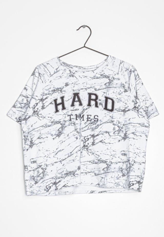 T-shirt print - multi-colored