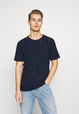 ATKINSON - T-shirt - bas - navy