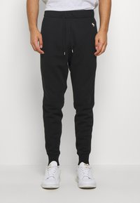 Abercrombie & Fitch - ICON - Tracksuit bottoms - black - 0