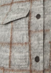 Object - OBJSOLA LONG - Short coat - light grey melange - 5