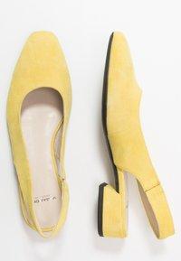 Vagabond - JOYCE - Slingback ballet pumps - citrus - 3