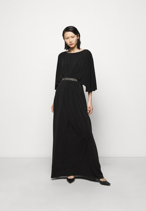 CLASSIC LONG GOWN TRIM - Occasion wear - black