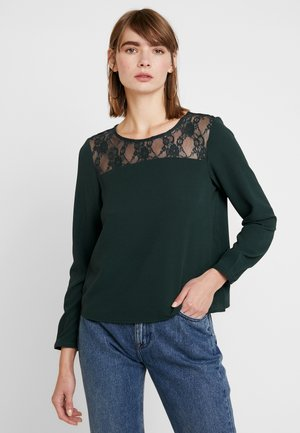 ONL MILA LUX SOLID - Blouse - green gables