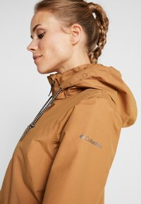 Columbia - FIRWOOD™ LONG JACKET - Waterproof jacket - light elk - 5