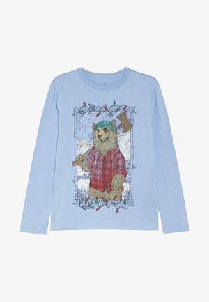 BOY - Maglietta a manica lunga - buxton blue