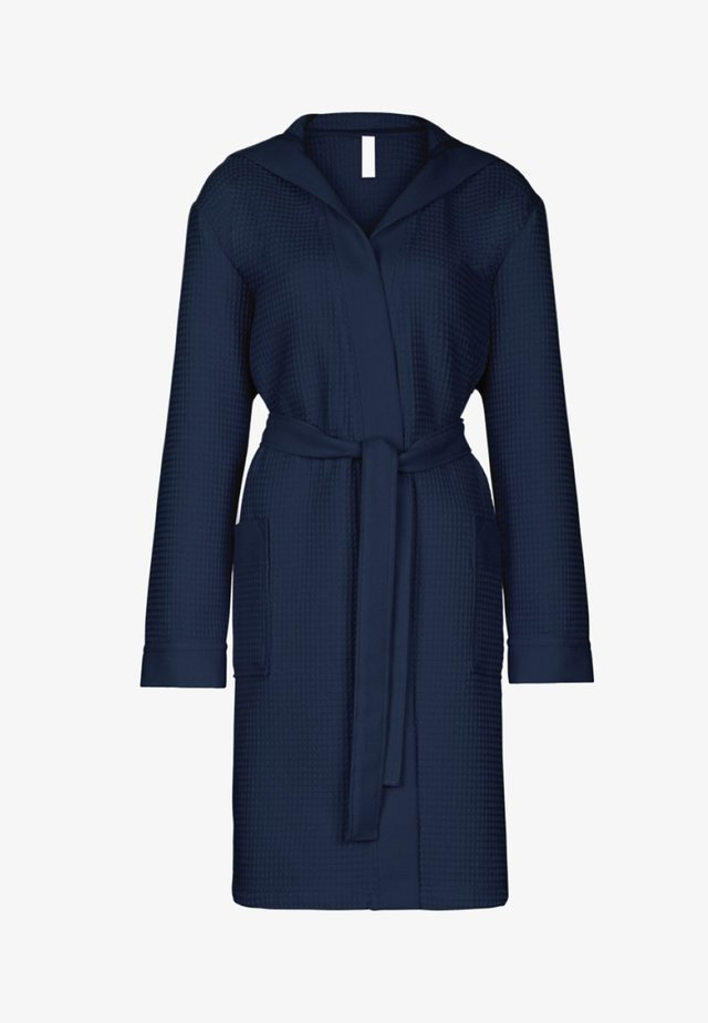MIT KAPUZE  - Dressing gown - navy