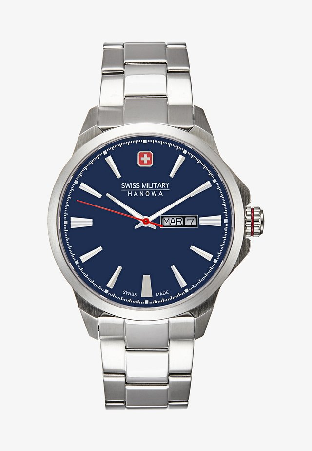 DAY DATE CLASSIC - Hodinky - dark blue/silver-coloured