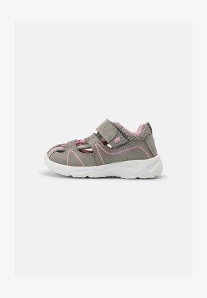 BORT - Sandals - grey/rose
