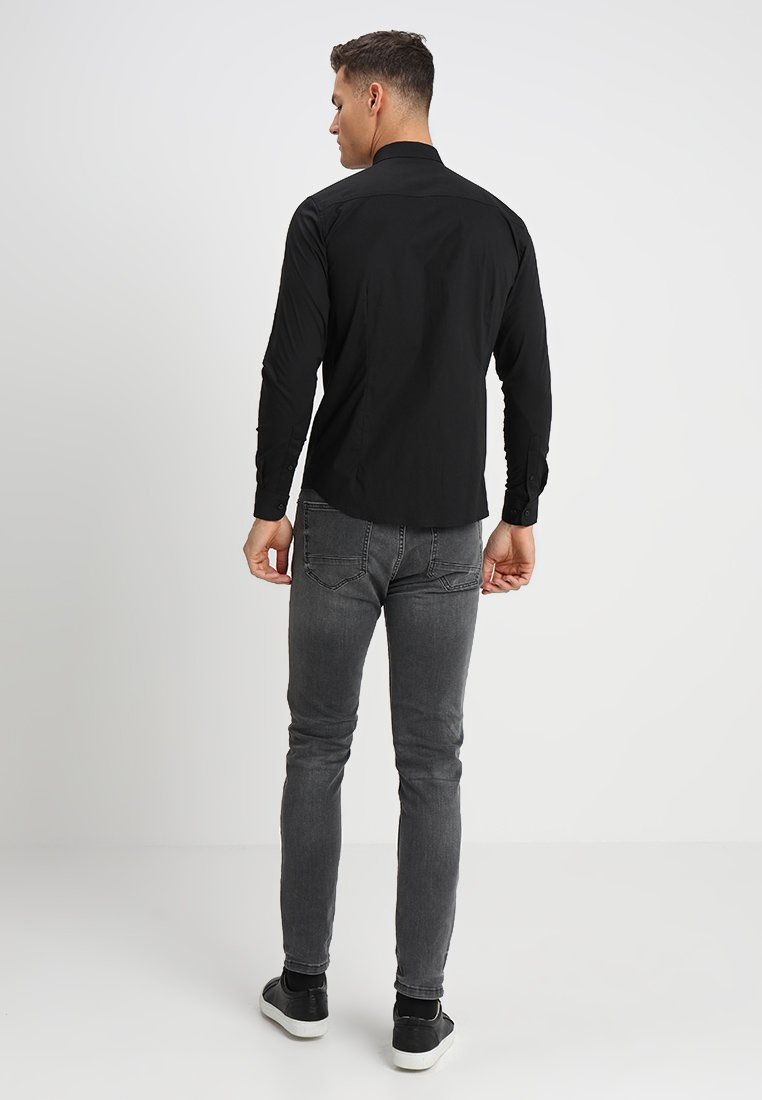 Solid Tyler - Finskjorte Black/svart