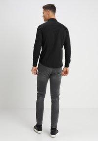 Solid - TYLER - Formal shirt - black - 2