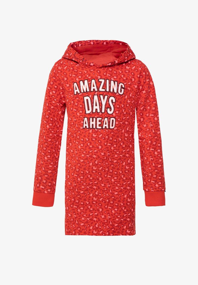 WE Fashion - WE FASHION MÄDCHENKLEID MIT CAMOUFLAGE-MUSTER - Robe d'été - red