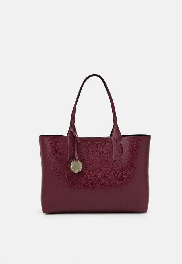 Handbag - vinaccia/nero
