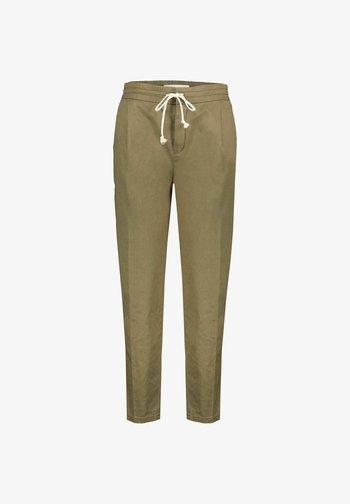 LEVEL_2  - Trousers - khaki