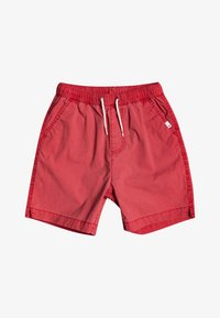 Quiksilver - TAXER WS YOUTH - Tracksuit bottoms - american red - 0