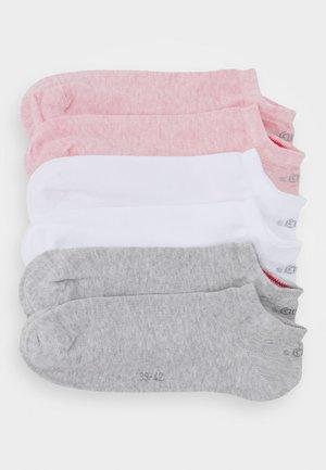 6 PACK - Trainer socks - rosé melange