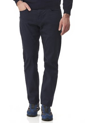 BASICO REGULAR - Trousers - blu scuro
