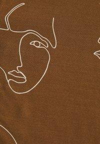 ICHI - IHCARISSA - Button-down blouse - brown - 2