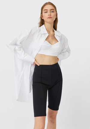 MIT BRALETTE - Košile - white