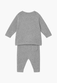 Staccato - SET - Kardigan - mottled grey - 1