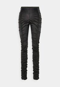 SMOCK TROUSER - Pantalones - black