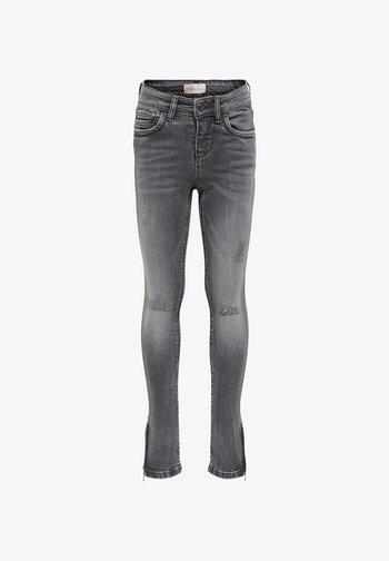 KONKENDEL ZIP ANKLE - Skinny džíny - grey denim