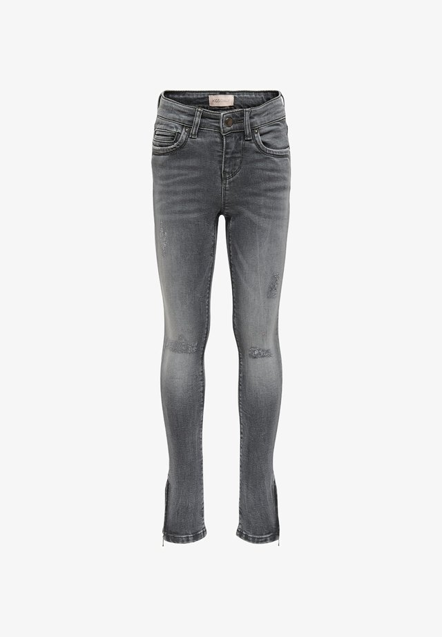 KONKENDEL ZIP ANKLE - Jeans Skinny Fit - grey denim