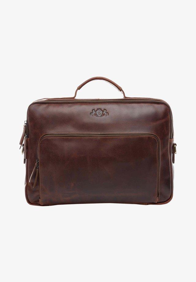 LAPTOPTASCHE - SIMON - Laptop bag - brown-cognac