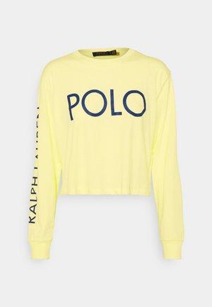 LONG SLEEVE - Pitkähihainen paita - bristol yellow