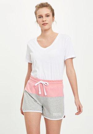 DEFACTO WOMAN SHORTS - Shorts - pink