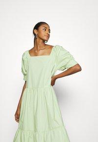 EDITED - JILL DRESS - Day dress - foam green - 3