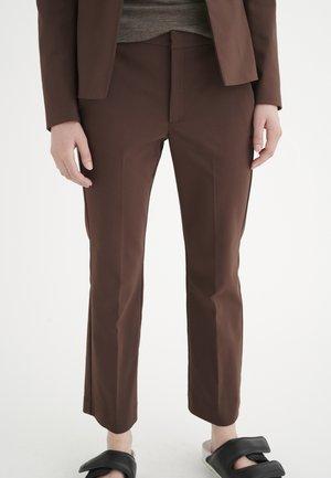 ZELLAIW KICKFLARE PANT - Trousers - coffee brown