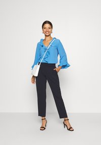 Wallis Petite - PULL ON TROUSER - Trousers - navy - 1