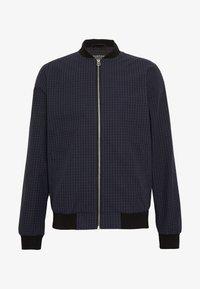 Burton Menswear London - BLACK MINI CHECK  - Bomberjacke - black - 4