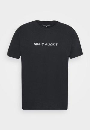 TOUR - Print T-shirt - black