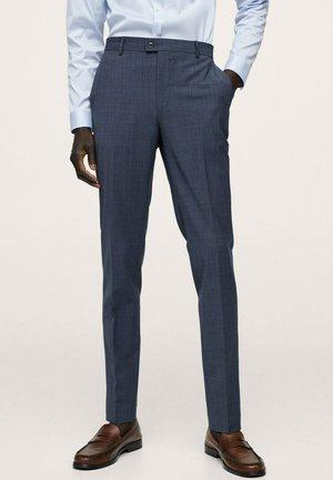 SLIM FIT  - Pantaloni eleganti - indigoblau