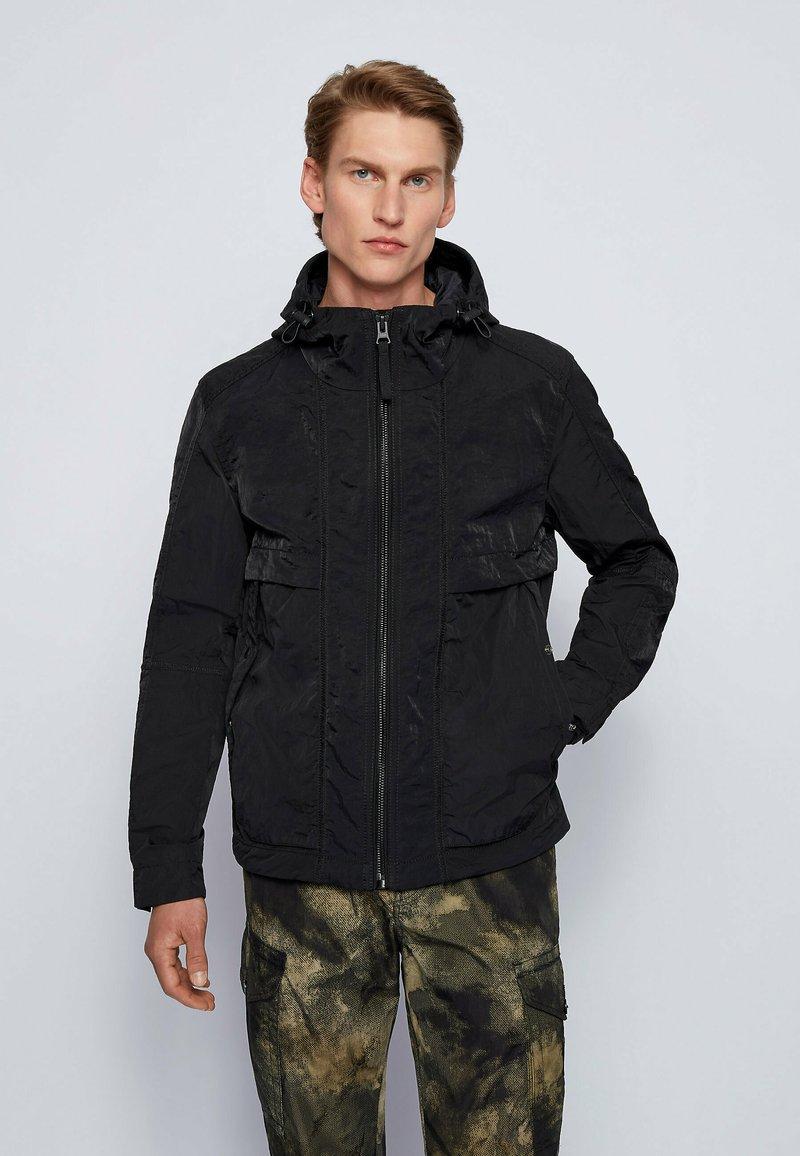 BOSS - Waterproof jacket - black