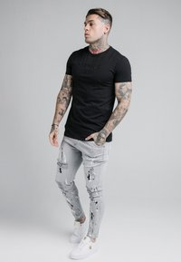 SIKSILK - ELASTICATED RIOT  - Jeans Skinny Fit - grey - 1