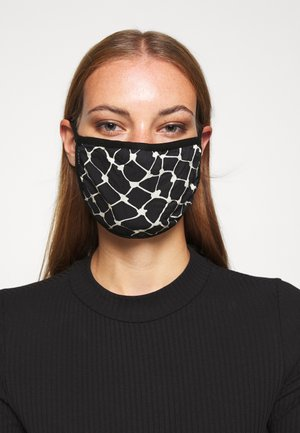 PATTERNED COMMUNITY MASK - Community mask - black