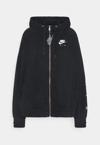 Nike Sportswear - AIR HOODIE PLUS - Zip-up hoodie - black - 4