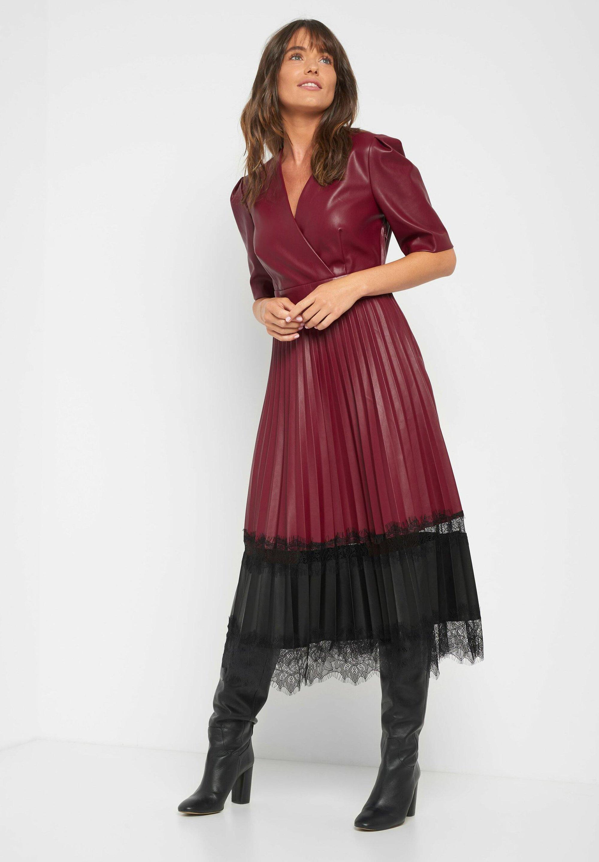 ORSAY Cocktailkleid/festliches Kleid   bordeaux rot/pink   Zalando.de