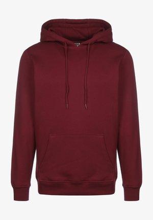Jersey con capucha - burgundy