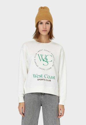 MIT SPORTPRINT - Sweatshirt - white