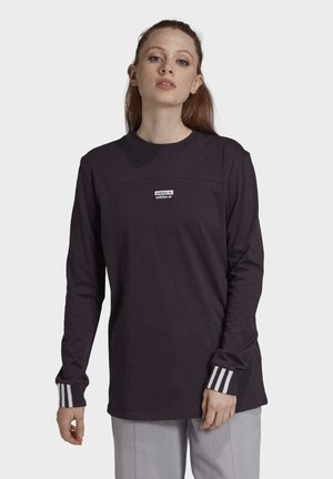 R.Y.V. SPORTS INSPIRED LONG SLEEVE T-SHIRT - T-shirt à manches longues - noble purple